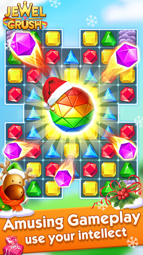 Jewel Crushu2122 - Jewels & Gems Match 3 Legend Apkfinish screenshots 15