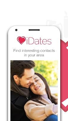 iDates - Chat, Flirt with Singles & Fall in Loveのおすすめ画像1