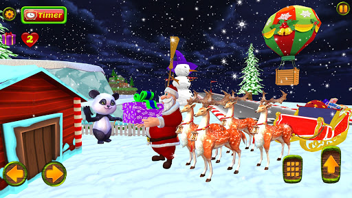 Santa Christmas Infinite Track screenshots 3
