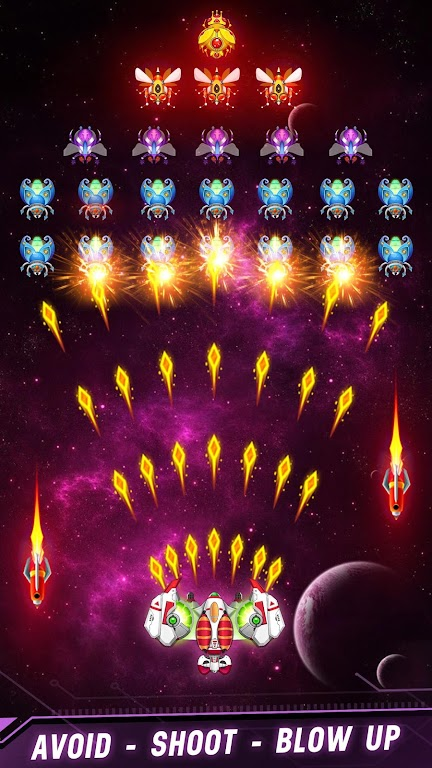 Space shooter - Galaxy attack - Galaxy shooter poster 4