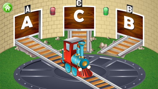 Learn Letter Names and Sounds with ABC Trains android2mod screenshots 4