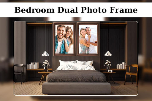 bedroom dual photo frame screenshot 2