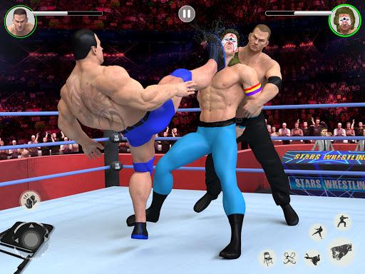 Men Tag Team Wrestling 2019: Fighting Stars Mania 1.0.2 Screenshots 10