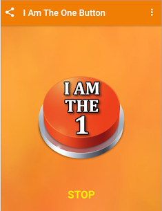 I Am The One Button 1