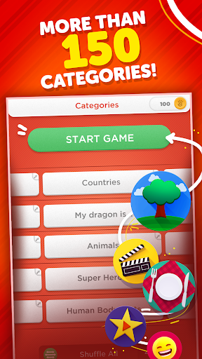 Stop - Categories Word Game  screenshots 3