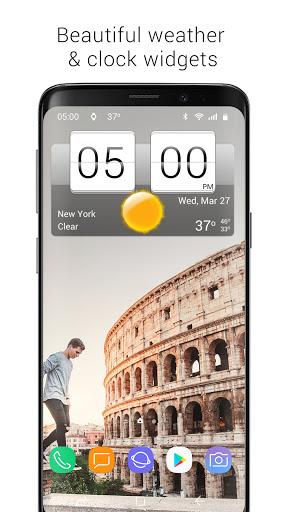 Sense Flip Clock & Weather  Screenshots 9