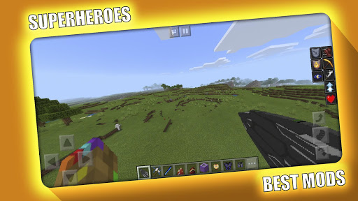 Avengers Superheroes Mod for Minecraft PE - MCPE 2.2.0 Screenshots 4
