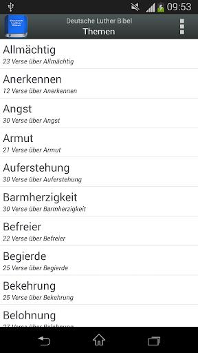 Deutsch Luther Bibel android2mod screenshots 5