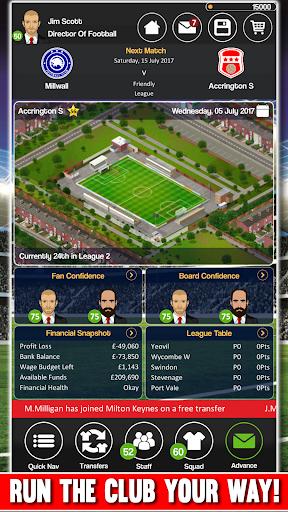 Club Soccer Director - Soccer Club Manager Sim 2.0.8e screenshots 5