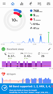 Notify for Mi Band: Get new features Screenshot