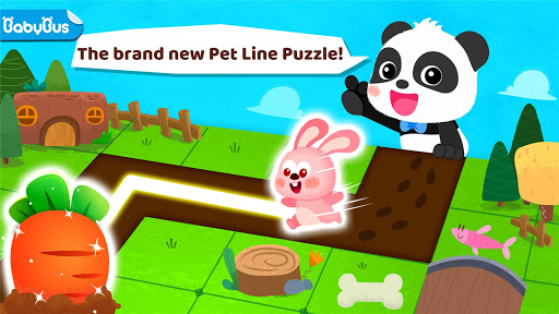 Little Panda's Pet Line Puzzle  screenshots 1