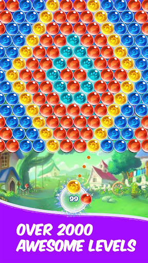 Sky Pop! Bubble Shooter Legend | Puzzle Game 2021 apkslow screenshots 1