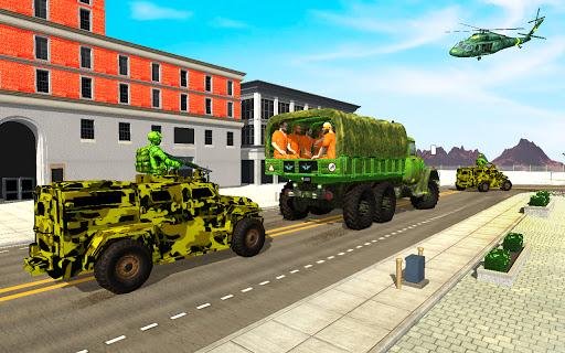 Offroad US Army Prisoner Transport: Criminal Games  screenshots 3