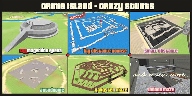 Crime Island - Crazy Stunts 1.06 screenshots 1