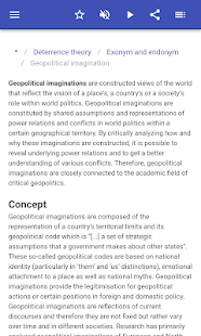 Political science terminology