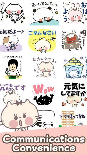 Cute Cat Stickers apktram screenshots 5