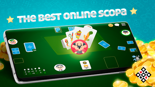 Scopa Online: Free Card Game Varies with device screenshots 1