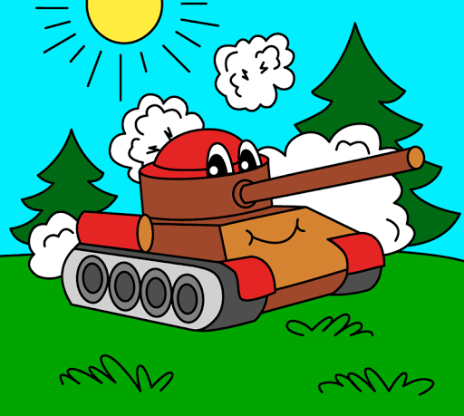 Coloring pages for children : transport 1.1.9 screenshots 1