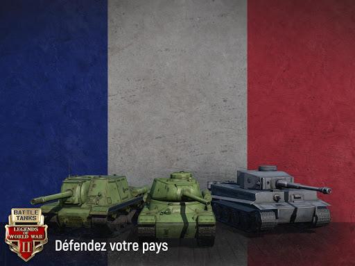 Battle Tanks: Jeux de Tank Online APK MOD – Monnaie Illimitées (Astuce) screenshots hack proof 2