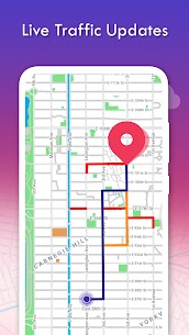 Real-time GPS, Maps, Routes, Direction and Traffic 6