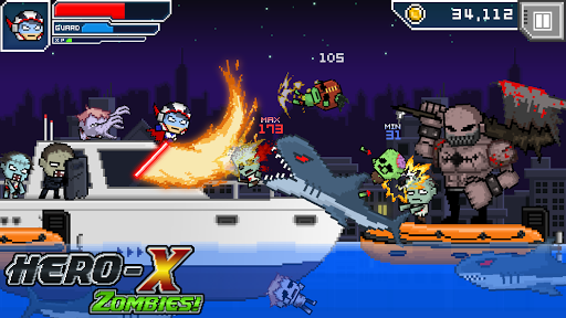 HERO-X: ZOMBIES! android2mod screenshots 15