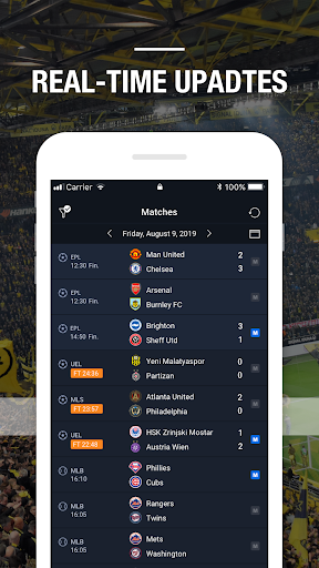 BeScore - Live Scores, Prediction, Analysis  Screenshots 3