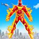 空飛ぶ火のヒーロー ロボットメイク ロボットゲーム