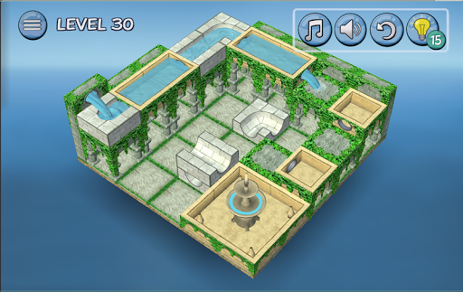 Flow Water Fountain 3D Puzzle 1.2 Screenshots 11