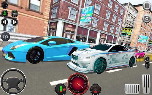 Télécharger Course automobile d'autoroute coureur de voiture APK MOD (Astuce) screenshots 2
