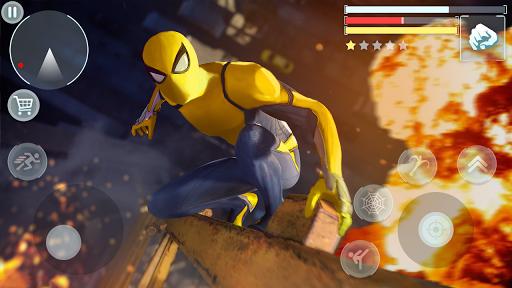 Spider Hero - Super Crime City Battle android2mod screenshots 9