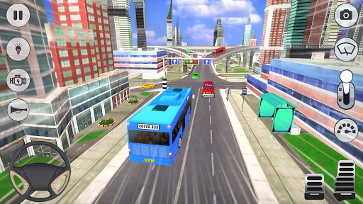 City Coach Bus Driver 3D Bus Simulator APK MOD (Astuce) screenshots 3