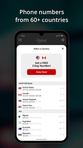Hushed - Second Phone Number - Calling and Texting 5.3.2 Screenshots 4