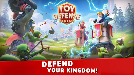 Toy Defense Fantasy — Tower Defense Game Unlimited Money