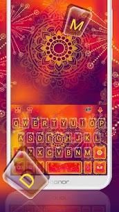 Red Mandala Keyboard Theme 1.0 Mod APK Latest Version 2