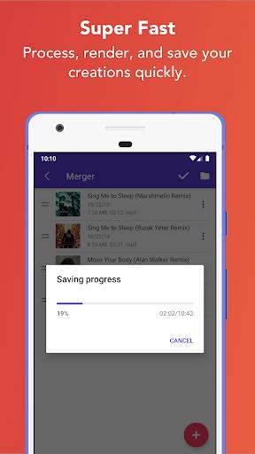 Music Editor - MP3 Cutter and Ringtone Maker 5.5.2 Screenshots 14