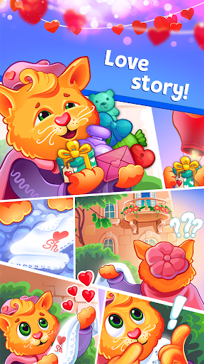 Sweet Hearts - Cute Candy Match 3 Puzzle  screenshots 15
