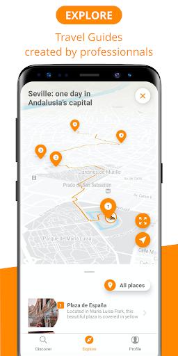 Escapad - digital travel guides  screenshots 1