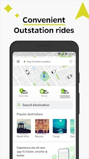 Ola, Safe and affordable rides Screenshot
