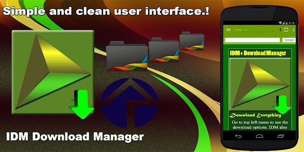 IDM Download Manager ★★★★★ 6.26 [MOD APK] Latest 2