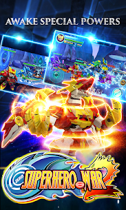 Superhero War: Robot Fight – City Action RPG 7