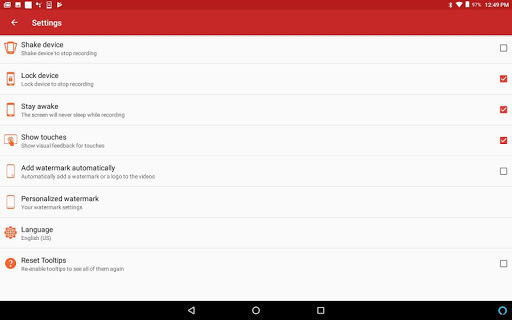 REC - Screen Recorder. UHD, FHD, HD, on/off audio 4.3 Screenshots 9