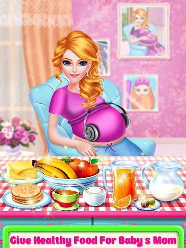 Mommy pregnant & newborn babysitter daycare game screenshot 2