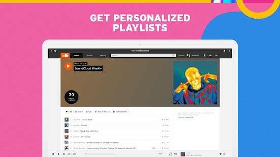 SoundCloud for Chromebooks 2 Screenshots 2