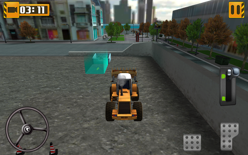 heavy equipment loader simulator screenshot 2