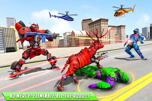 Deer Robot Car Game – Robot Transforming Games 1.0.5 screenshots 2