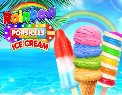 Rainbow Ice Cream & Popsicles 3.1 screenshots 1