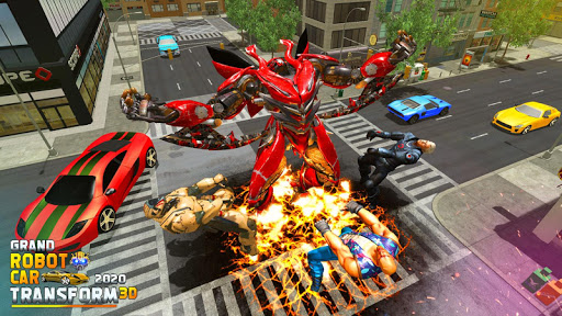 Grand Robot Car Transform 3D Game 1.35 screenshots 7