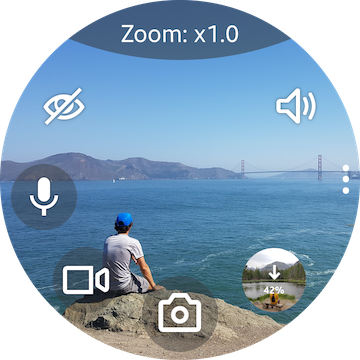 Camera One: Wear OS, Galaxy Watch android2mod screenshots 4