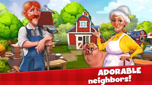 Happy Town Farm Games - Farming & City Building  screenshots 12