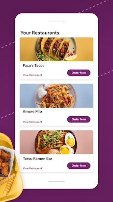 Dine by Wix: Your favorite restaurants on the goのおすすめ画像2